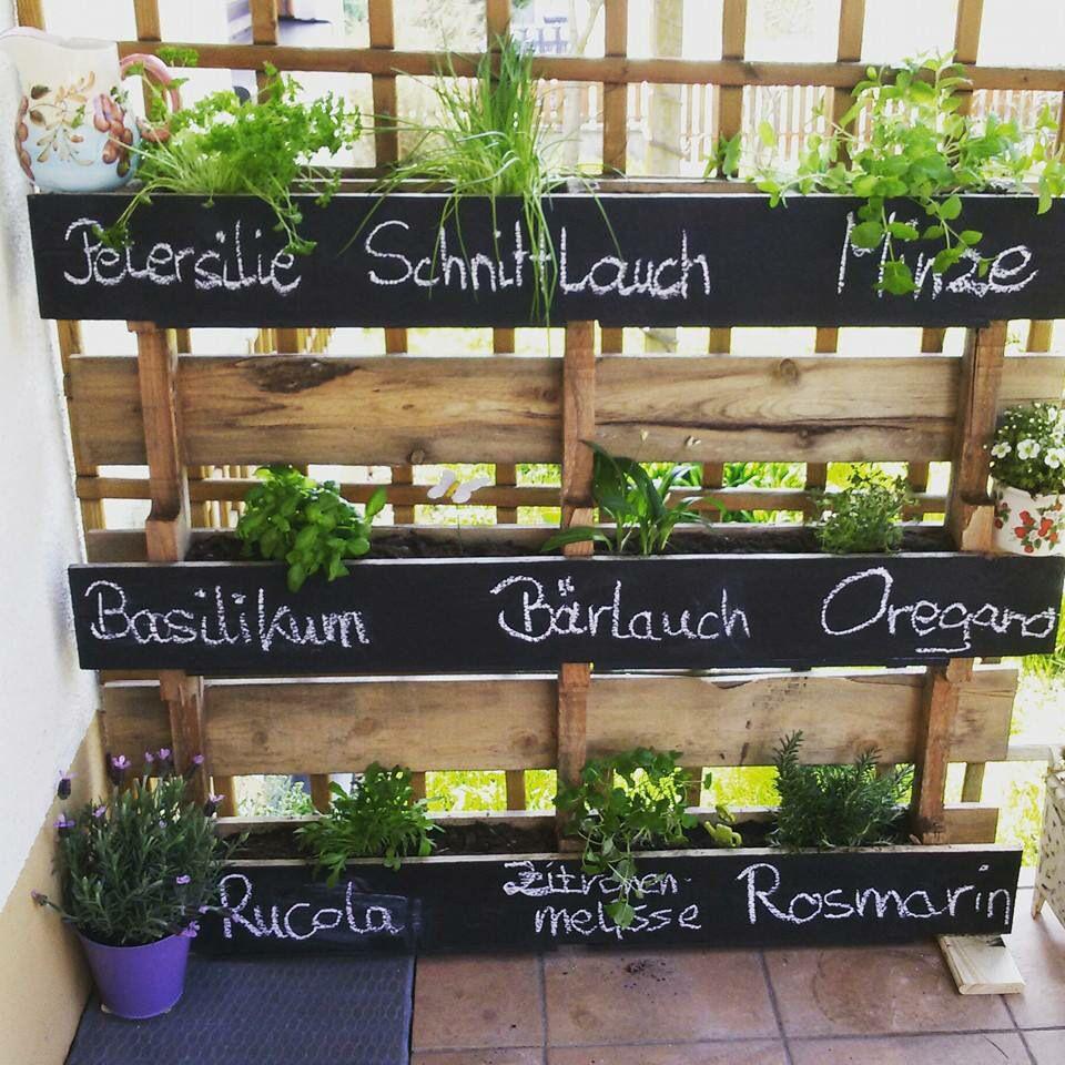 Krauterbeet Balkon Pflanzen Garten Bepflanzung