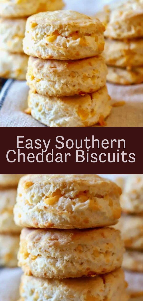 Photo of Easy Southern Cheddar Biscuits Recipe