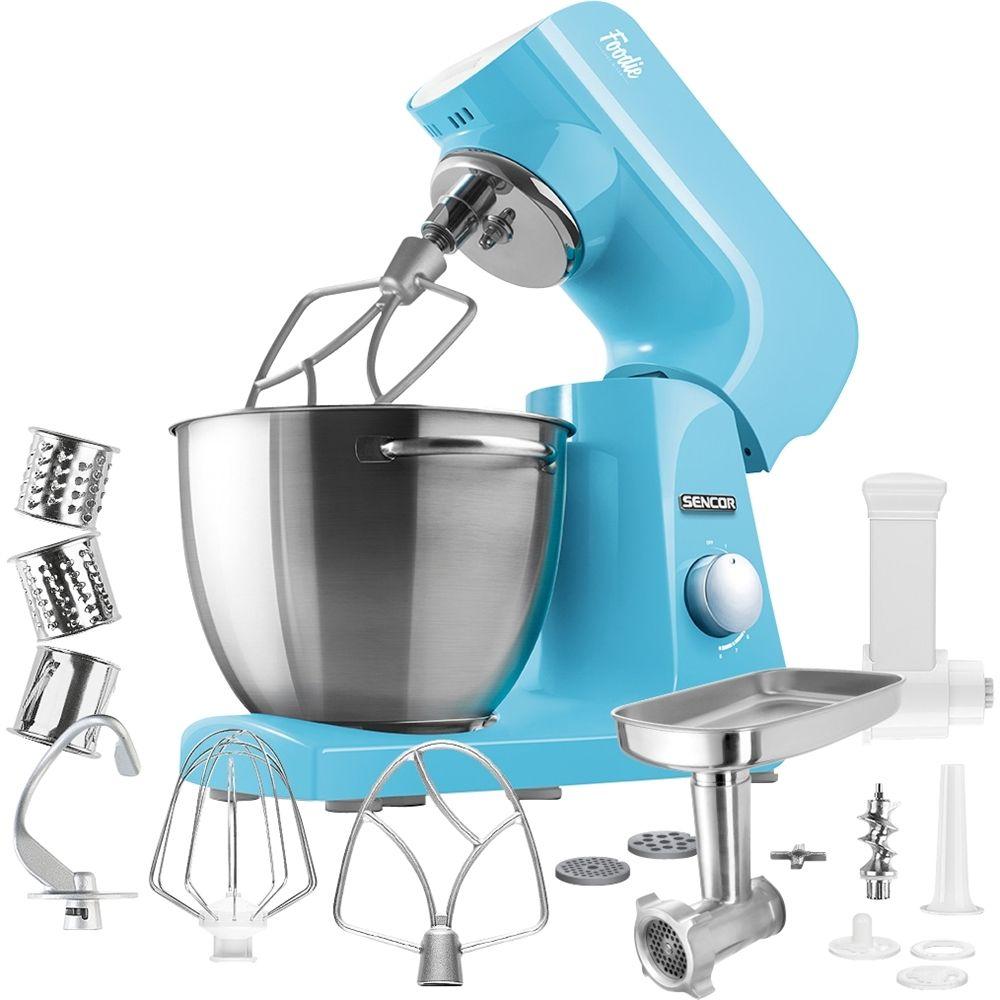 Sencor - Pastel Tilt-Head Stand Mixer - Forget-me-not Blue | Head ...