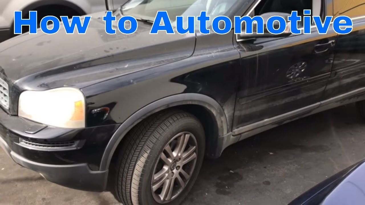 How To Replace The Pcv Valve Oil Trap On A Volvo Xc90 With 3 2l Engine Volvo Xc90 Volvo Engineering