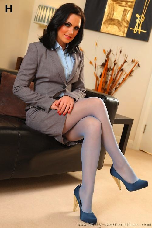3c9ecda46 Gorgeous black haired in coloured tights   pantyhose and heels