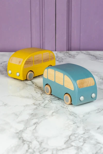 maileg wooden bus friction toy in 2020 toys wooden kids safe pinterest