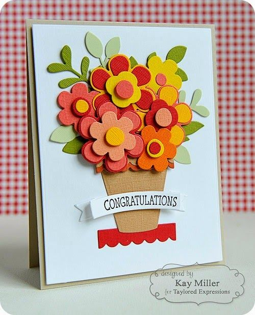Marvelous Card Making Ideas With Flowers Part - 6: Pinterest