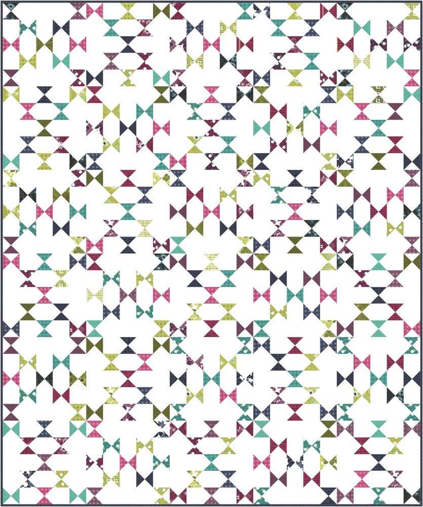 V and Co — Butterfly Kisses Quilt Pattern PDF
