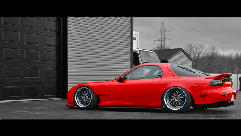 Mazda Rx 7 On Work Vs Xx Wheels Cars All Makes And Models