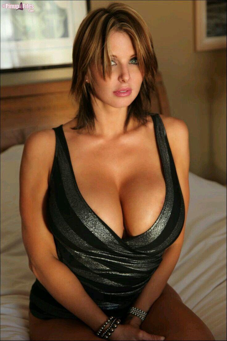 Polish woman with natural big breasts