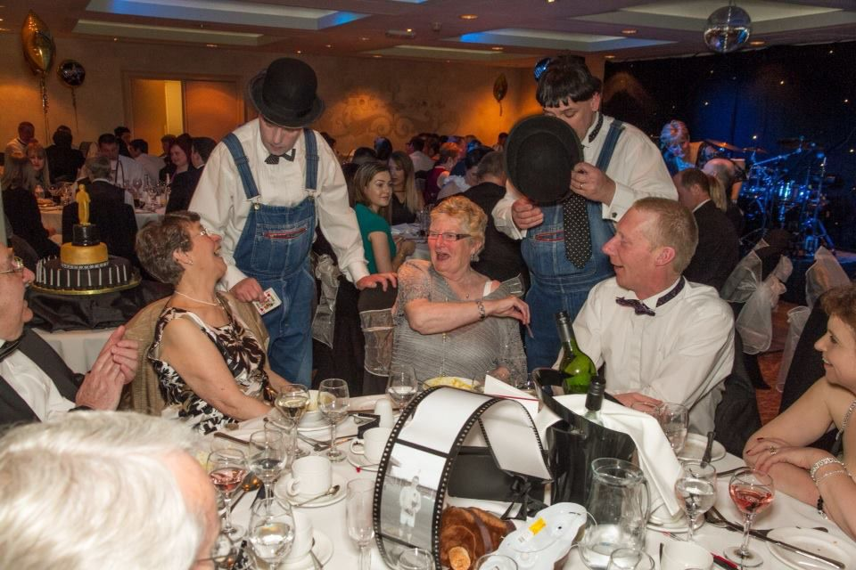 We will entertain your guests and get them involved with the close-up magic which includes objects such as cards, rope, spoons, money and our seen-to-be-believed fork bending illusion.