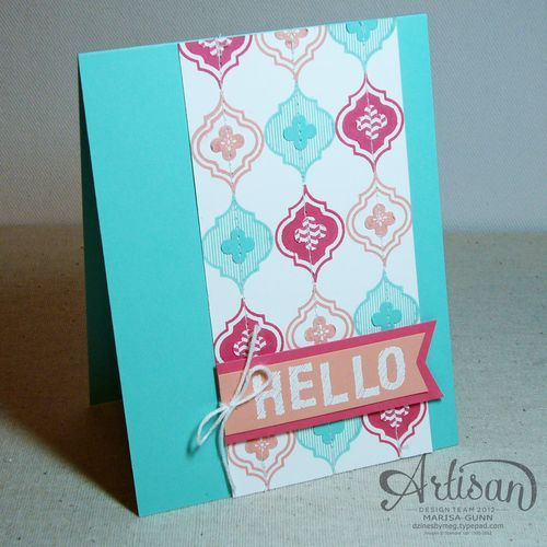 Artisan-Design-Team-June2 Marisa Gunn, card, Mosaic Madness