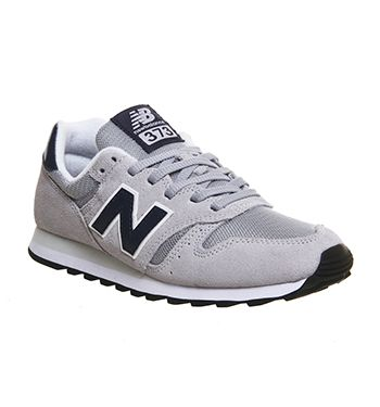 New Balance Ml373 Grey Grey Navy Mesh - Unisex Sports