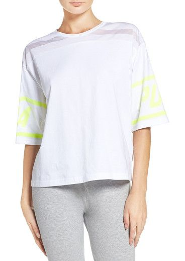 1cbf0f7bf4390 On SALE at 49% OFF! burnout tee by Puma. Stay cool and sporty in this Puma-logoed  jersey tee ventilated by front-to-back shadow stripes.