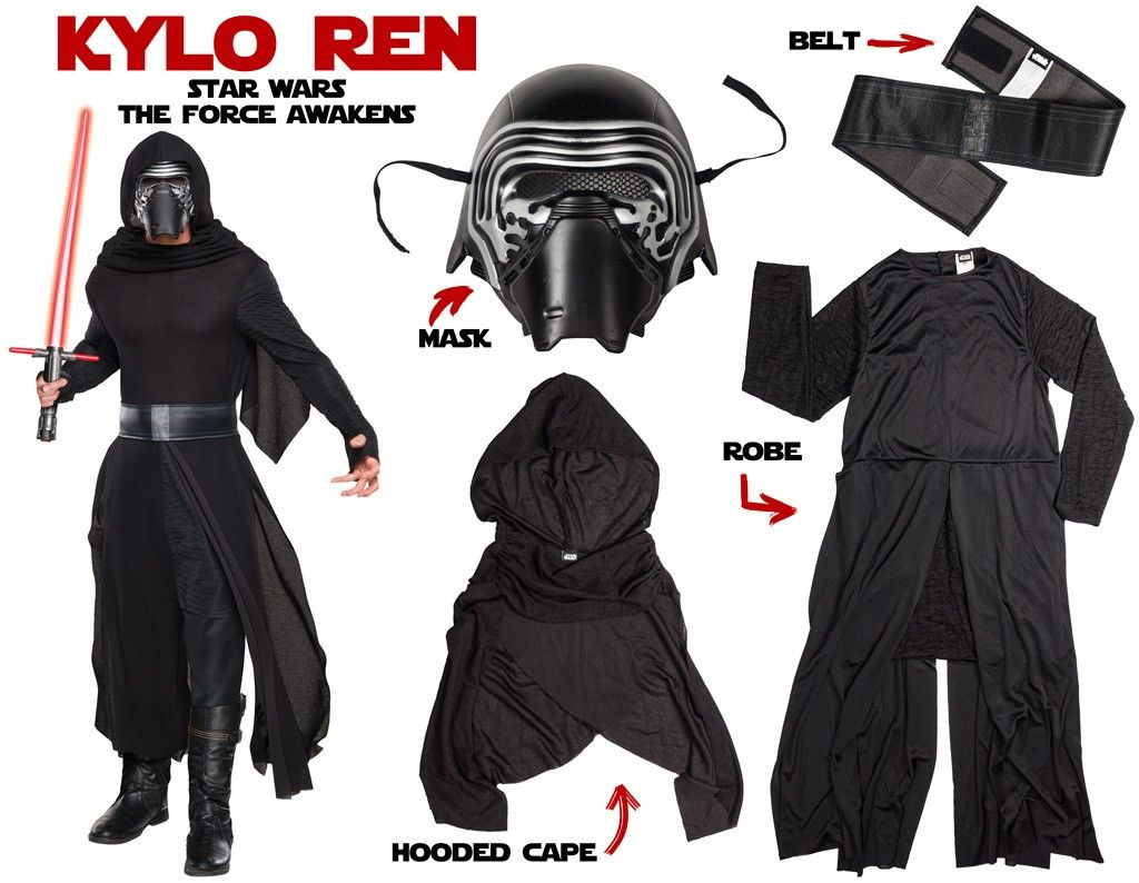 Join Kylo Ren   The Dark Side on Force Friday Disfraces Para Adultos a2b6349cbab2