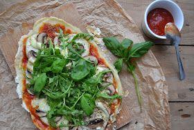 Pizza Homemade (vegetariana e sem glúten)