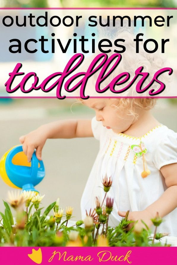Summer outdoor toddler activities are a great way to connect with kids while building fine and gross motor skills Simple activities like fun games scavenger hunts and mor...