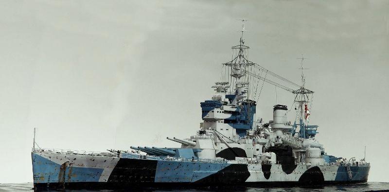 Hms King George V Warship Model Scale Model Ships Model Warships