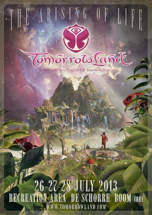 Tomorrowland Carteles Y Posters Del Festival Carteles De Festival De Musica Festivales De Musica Cartel Festival