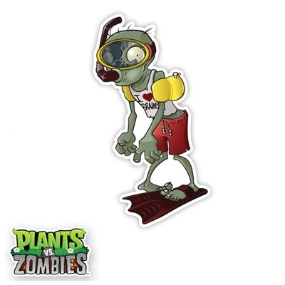 WALLS 360 wall graphics: Plants vs Zombies Scuba Zombie http://www.walls360.com/plants-vs-zombies-scuba-zombie-p/9142.htm