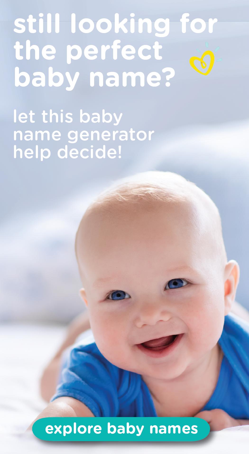 Baby Name Generator Baby name generator, Traditional