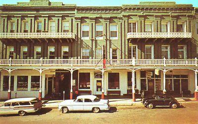National Hotel Nevada City California Vintage Pc 35c Ebay Nevada City National Hotel Nevada City California