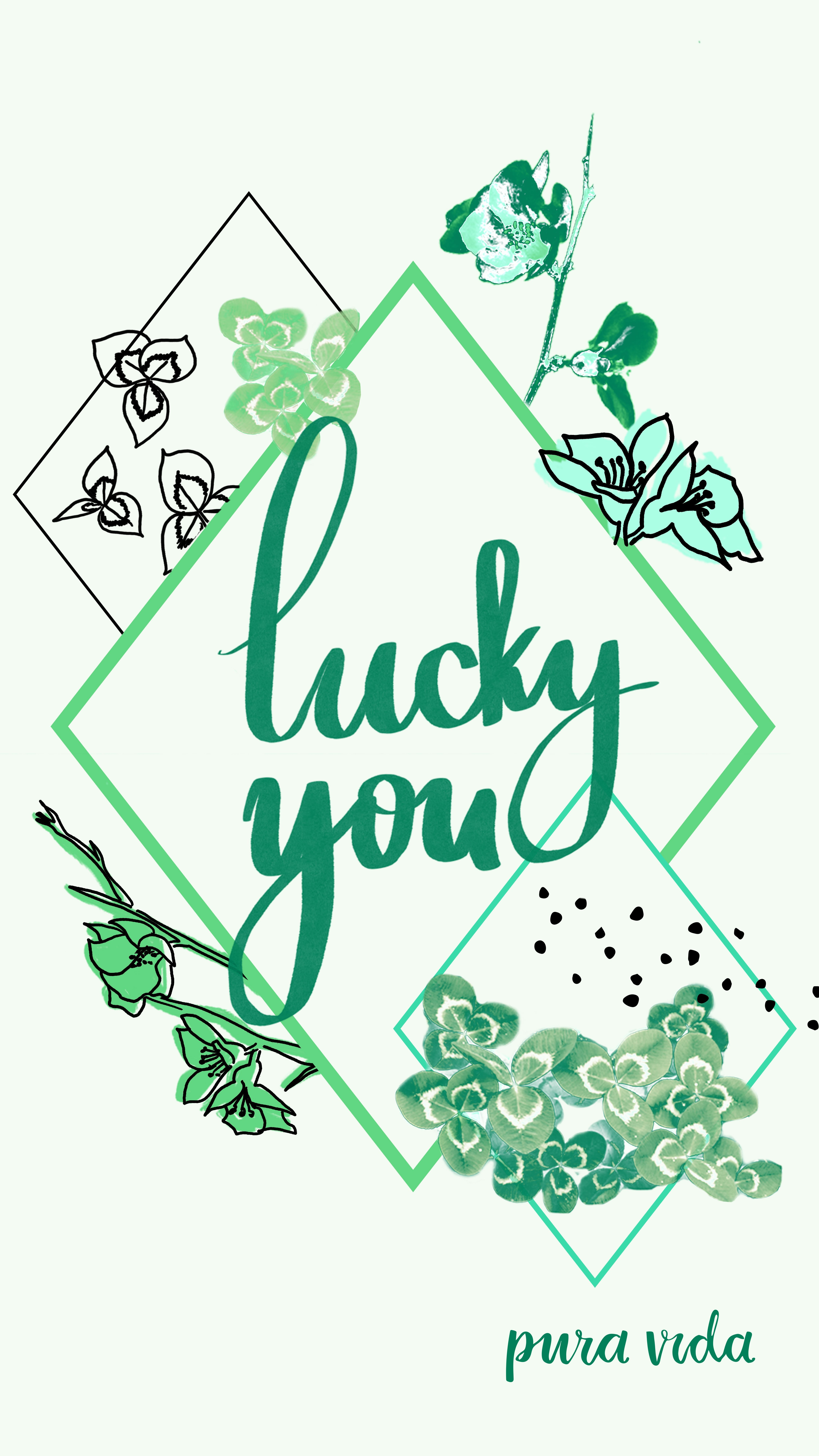 Today Is Your Lucky Day Puravidabracelets Screensaver Cute