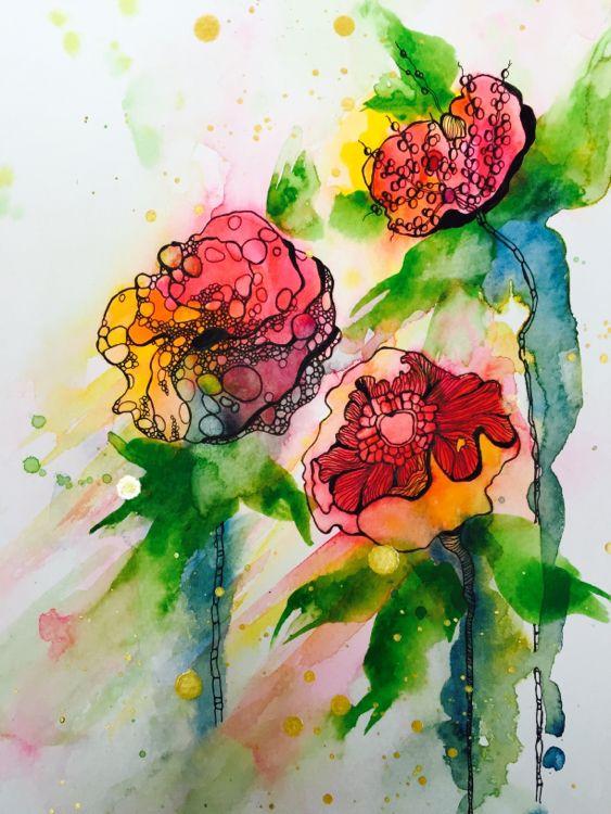 Creations Ceecee Is Creating Art And Tutorial Videos Flower Art