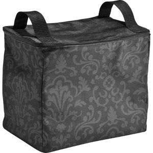 """Thirty-One 31 Gifts Double Thermal Organizer, Black Printed Parisian NEW  www.mythirtyone.com/chaslopez  hit """"my Party """" and look for natalie to place your order. it will ship directly to you. Natalie"""