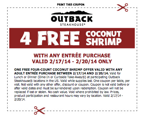Outback Steakhouse 8 Off Printable Coupon Outback Steakhouse Restaurant Coupons Coupons