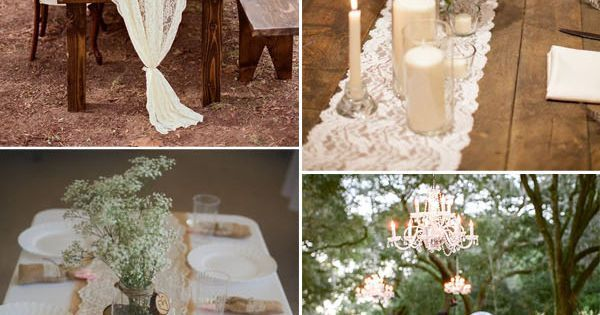 Vintage weddings, Table runners and Runners on Pinterest