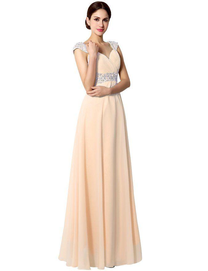 blush peach prom dresses,long prom dresses | Prom Dresses ...