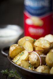 Pommes de terre grenailles au Gros Sel La Baleine