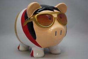 Super Nice Charming Elvis Presley Piggy Bank