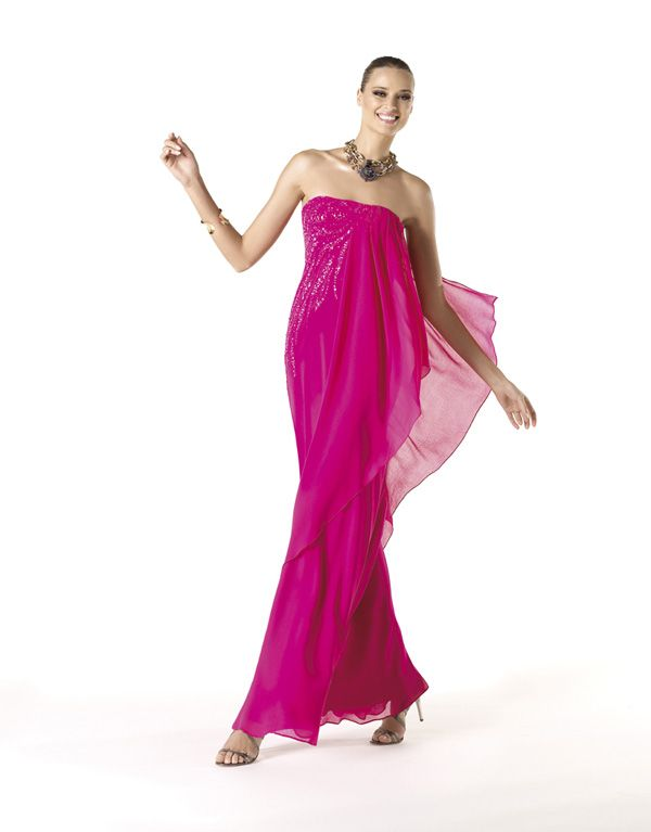 Vestidos de fiesta de Pronovias 2014 #vestidos #invitadas #boda ...