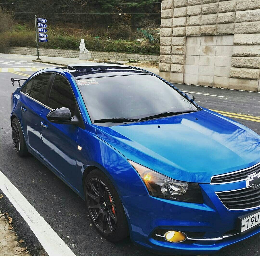 blue chevy cruze
