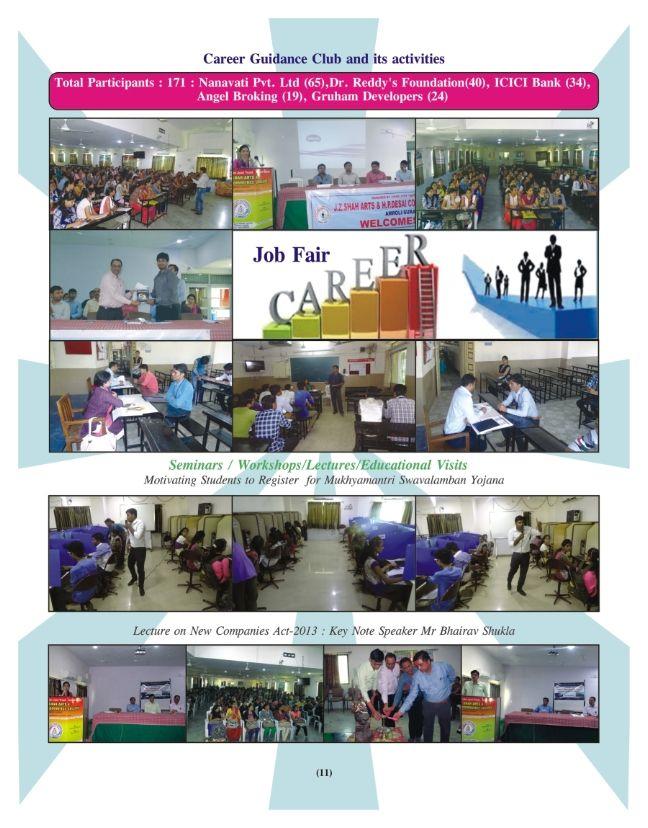 Spark Newsletter Vol .7 Issue 2 Job fair, Student