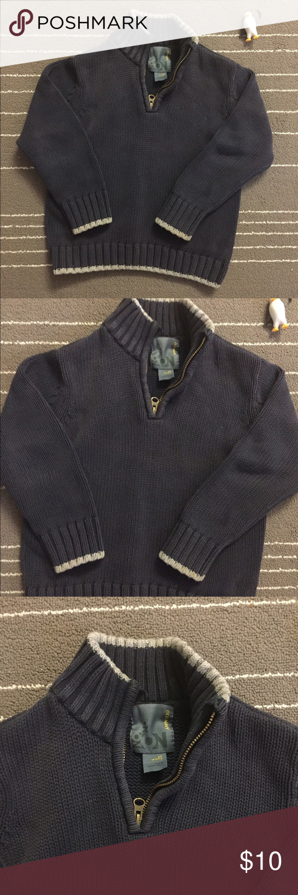 Old navy Kid boy sweater in navy color | Kids boys, Navy colour ...