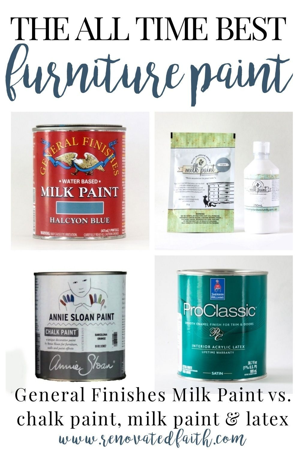 General Finishes Milk Paint Review What is the BEST Paint