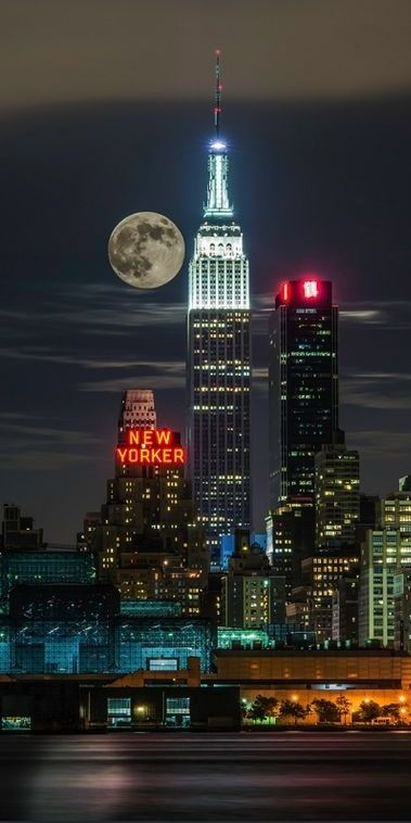 New York City Full Moon