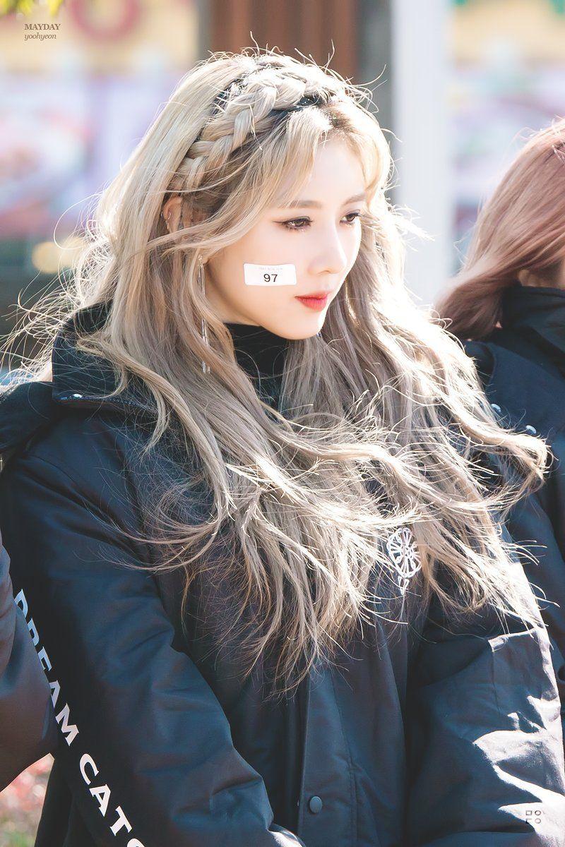 7 Dreamers Hairstyle Kpop Hair Girl Hairstyles