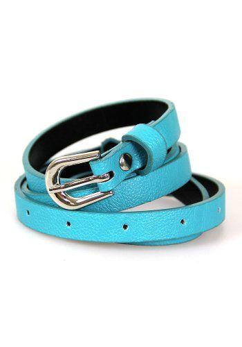 Skinny Belt: Turquoise