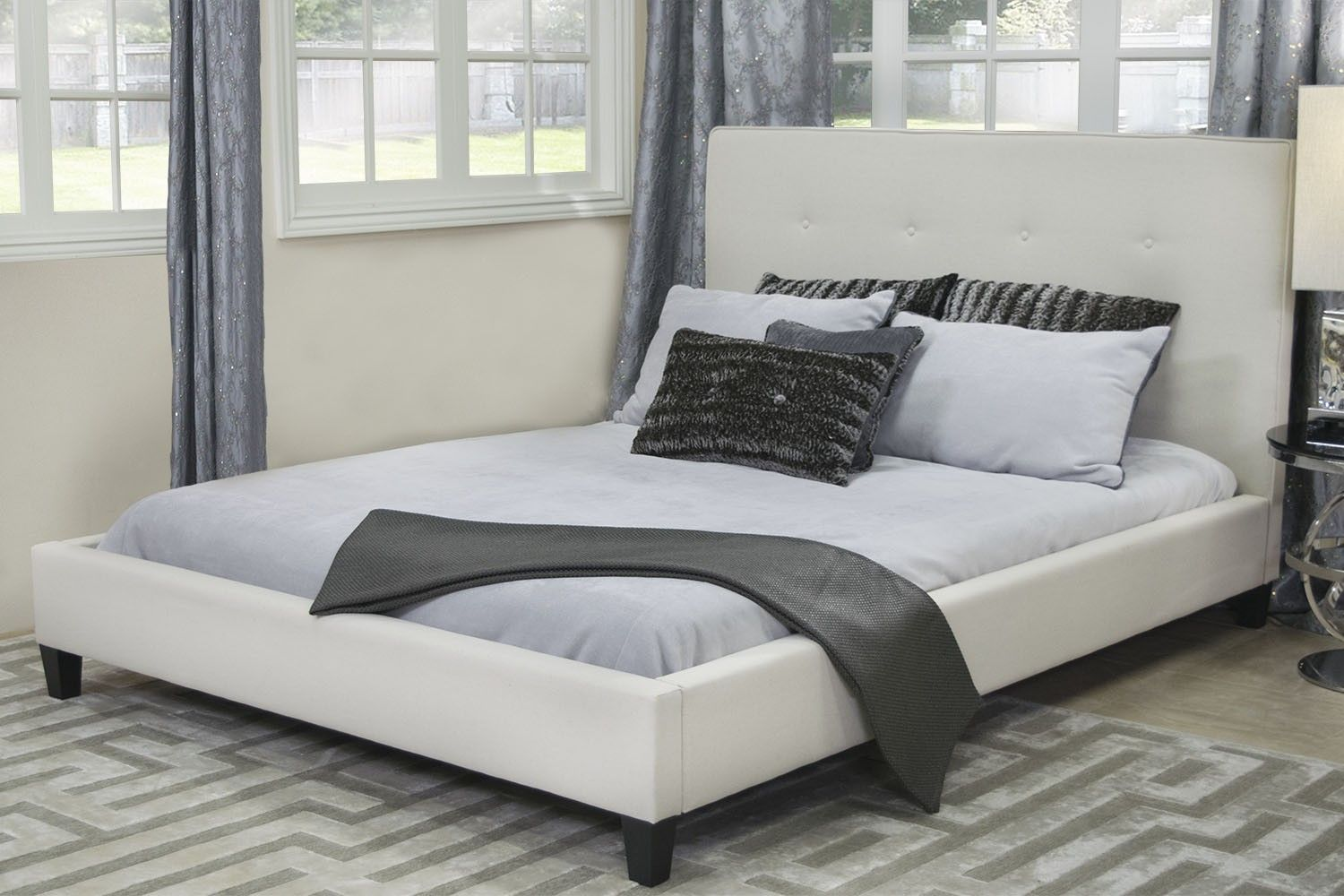 Best Mor Furniture For Less The Mid Century Modern Queen Bed 400 x 300
