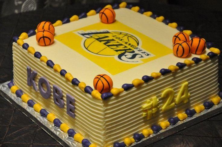 Kobe Los Angeles Lakers Cake 24