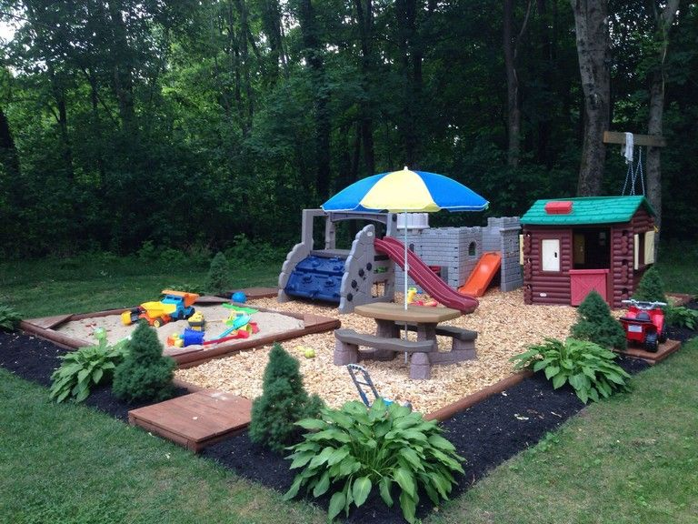 30+ FINEST BACKYARD PLAY AREA FOR KIDS IDEAS images
