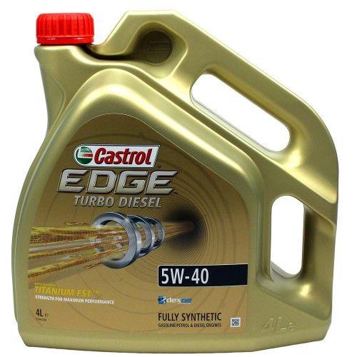 Castrol Edge Turbo Diesel Titanium Fst 5w40 4l Motorni Masla Boost Diesel Turbo Titanium