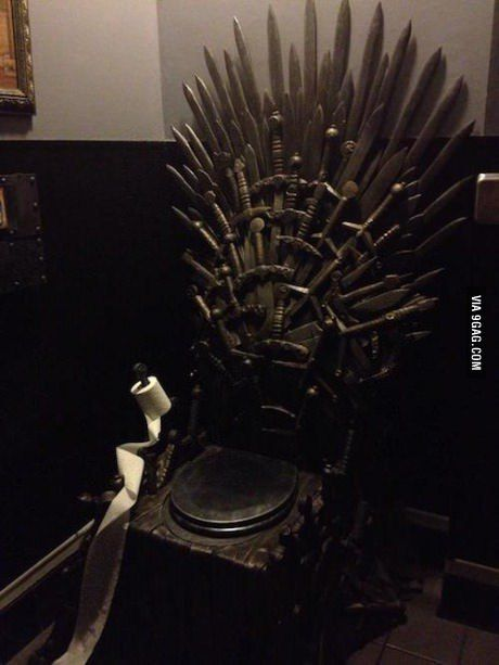 Game Of Thrones Toilet Iron Throne A Little Something From Here