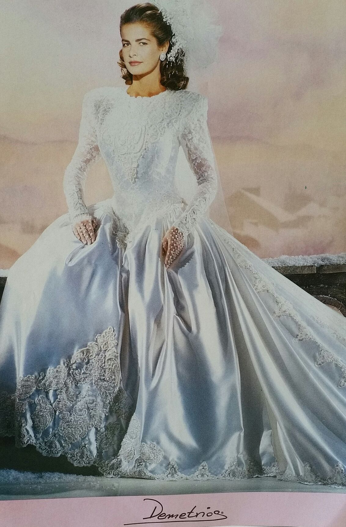 Demetrios demetrios gowns to over years old but still
