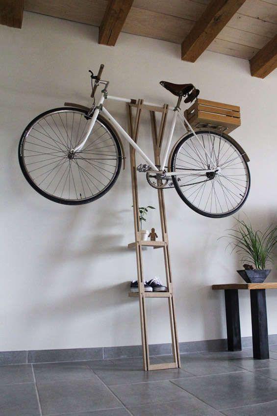 20 Very Cool Bike Storage Ideas Indoor Bike Rack Bike Hanger