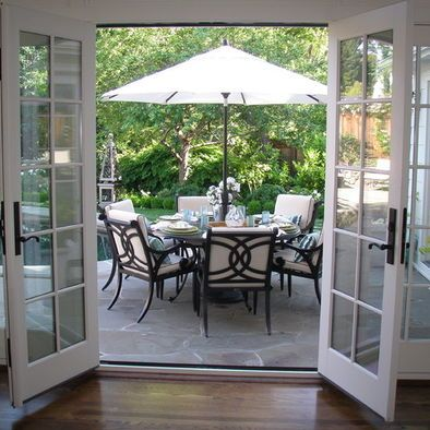 Landscaping A Walkout Basement Design Pictures Remodel Decor And Ideas Page 22 French Doors Patio Dining Room French French Doors
