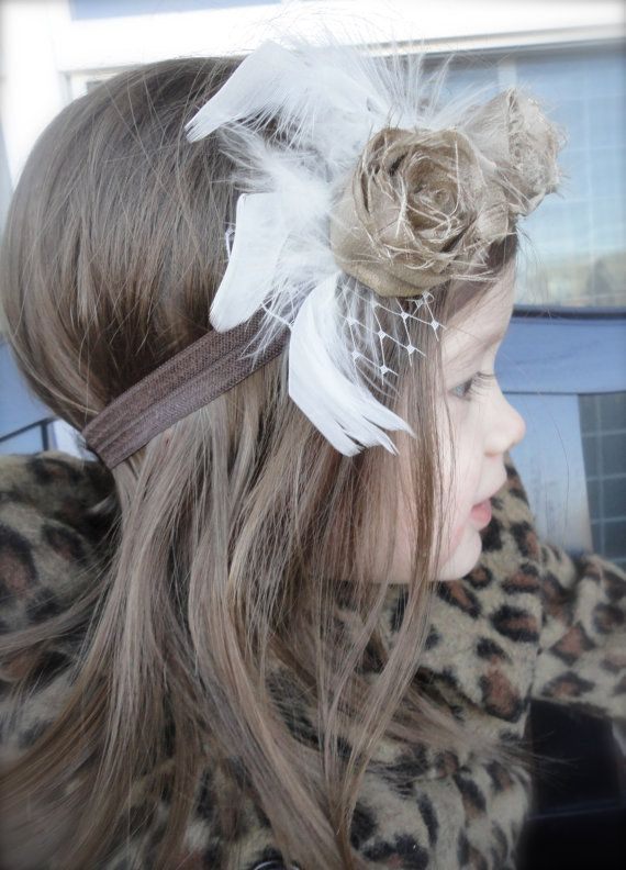 The Lainey  Vintage Inspired Headband with Gold by tealandco, $16.00