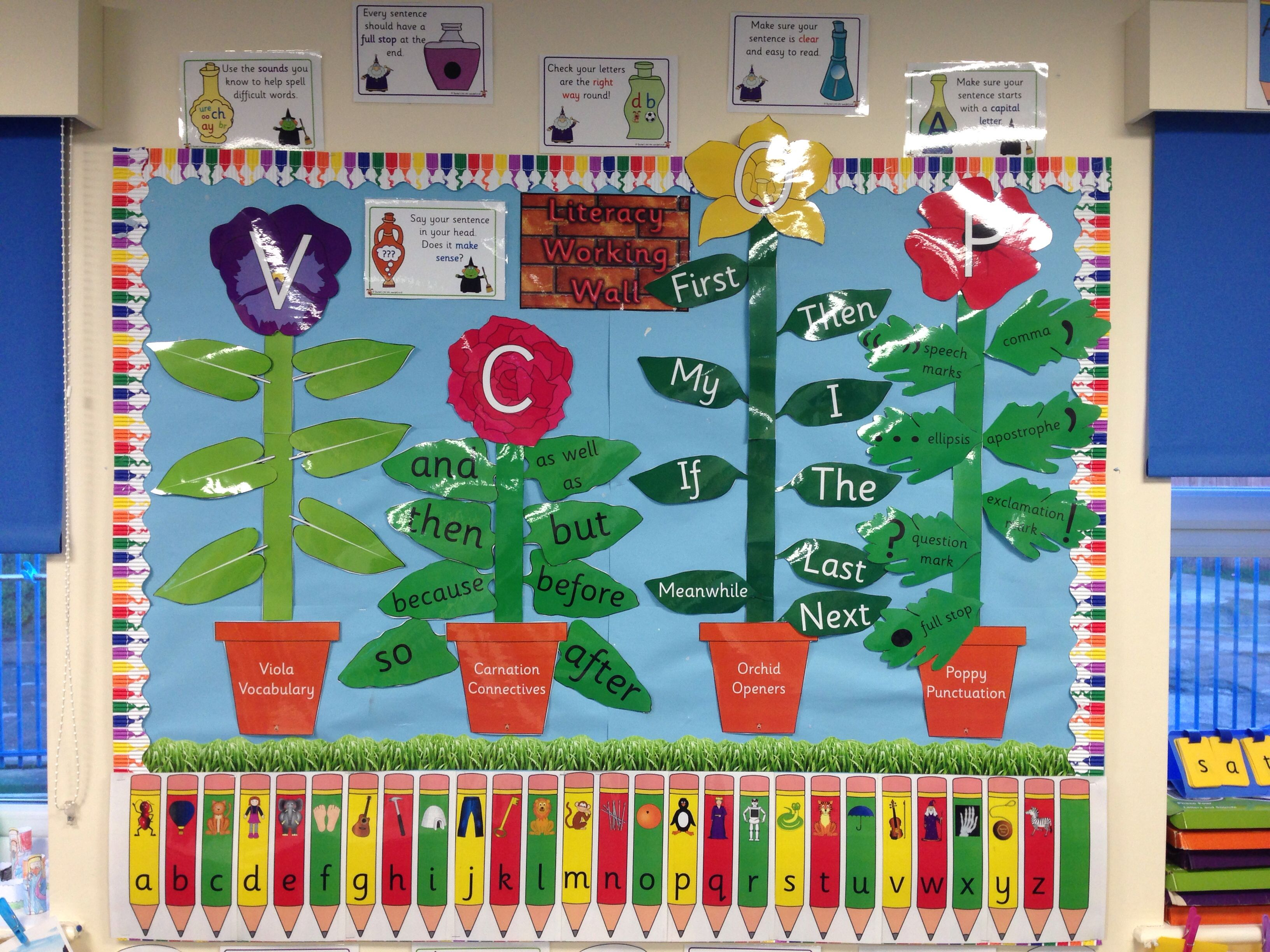 Classroom Ideas Year 6 : My literacy vcop display working wall pinterest