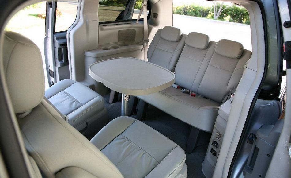 Chrysler Town And Country Minivan Interior Transporter