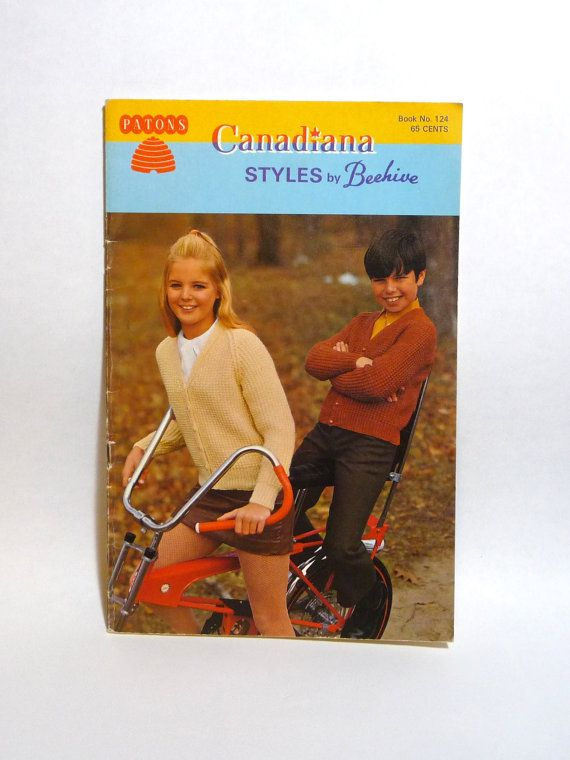 Vintage Knitting Pattern Book Sweater by TheCreativeHearth on Etsy, $10.00
